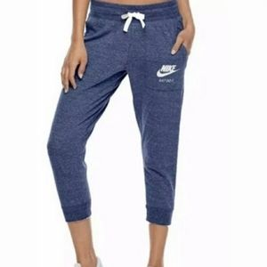 ✔Vintage style Nike navy joggers with pockets